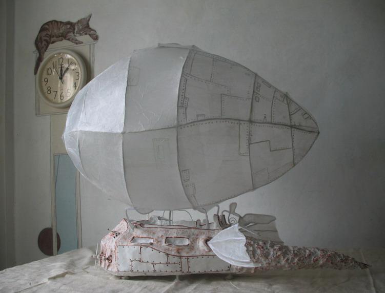 Дирижабль своими руками поделка 94