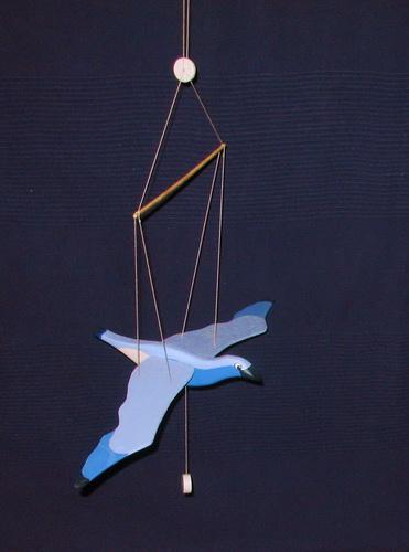 Самолетики на веревочке своими руками