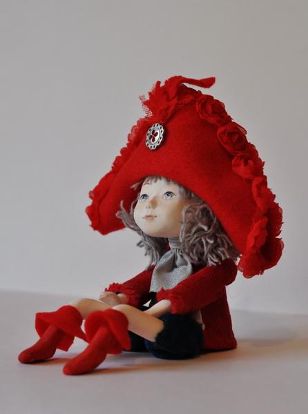 авторская кукла Ольги Моренко